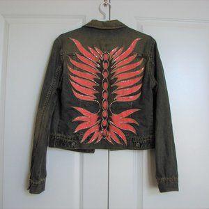 Vintage 80s G Brand Guess Denim Jean Jacket ~ RARE
